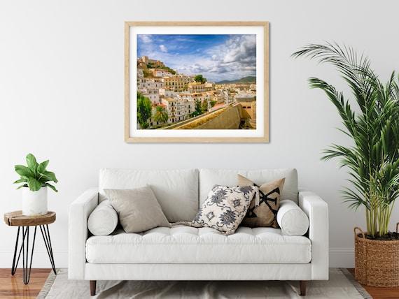 Ibiza Town Photo Print, Balearic Islands, Spain, Mediterranean Art