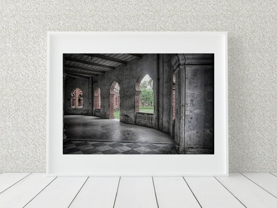 Architecture Photo Print, Bangladesh Photography, Urban Print