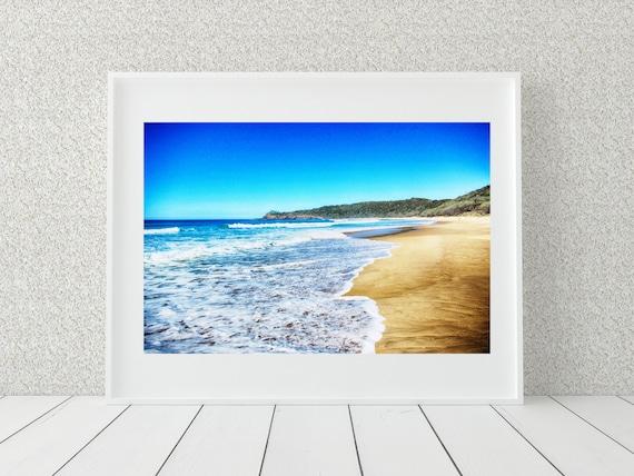 Beach Photography Print, Australia Photography, Coastal Decor