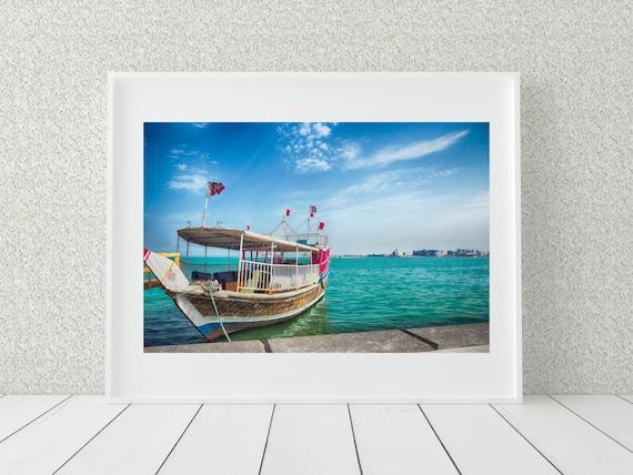 Sail Boat Photo Print, Travel Prints, Sailing Decor
