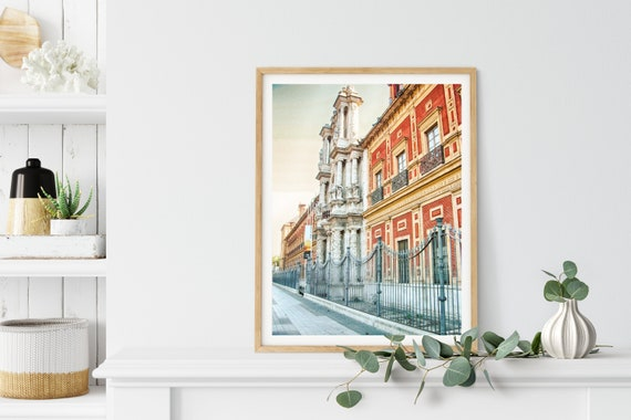 San Telmo Palace Photo Print, Sevilla, Spain, Travel Art