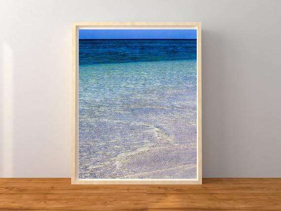 Tropical Beach Photo Print, Australian Photography, Coastal Decor