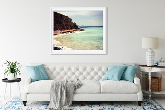 Noosa Beach Photo Print, Australian Photography, Coastal Decor