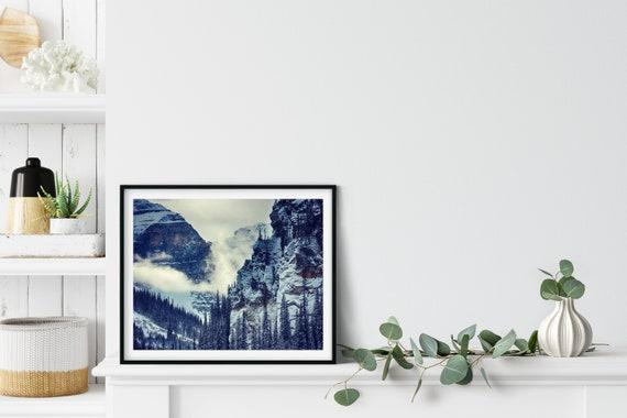 Canadian Rockies Photo Print, Banff, Canada, Mountain Wall Art