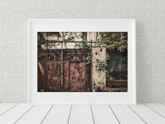 Urban Photo Print, Philippines Photography, Rustic Decor
