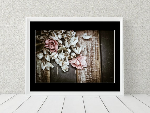 Pink Floral Photo Print, Botanical Print, Floral Decor