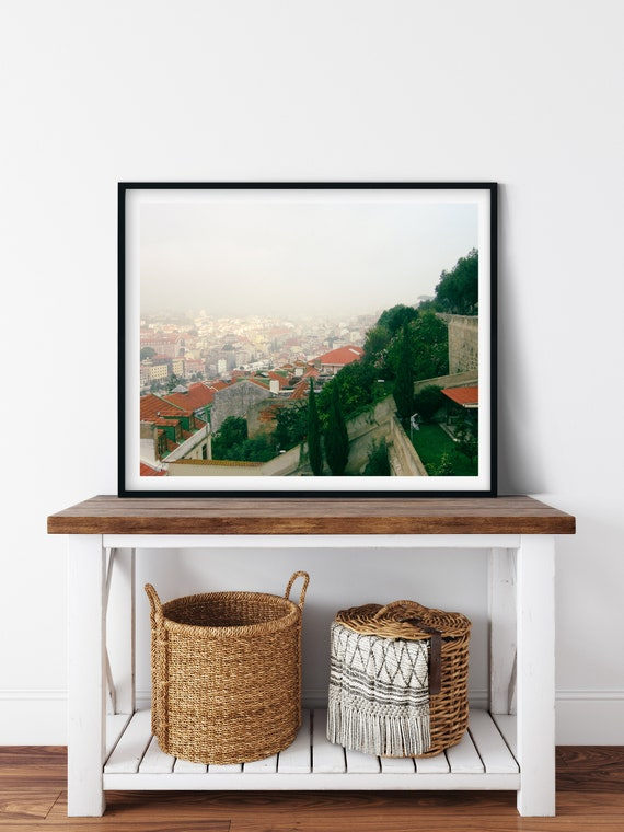 Estrela Garden Photo Print, Lisbon, Portugal, City Art