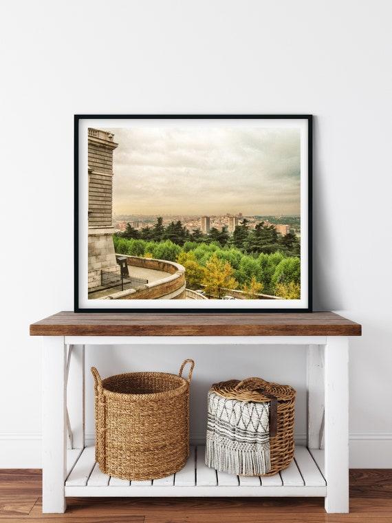 Royal Palace Photo Print, Madrid, Spain, Travel Art