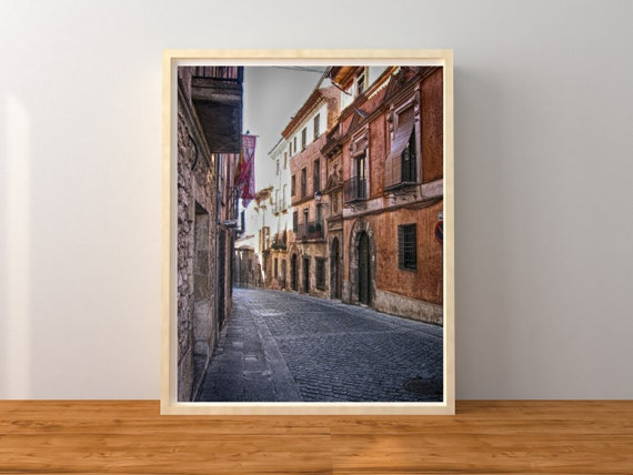 Spanish Village Photo Print, Spain Decor, Europe Wall Art