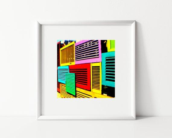 Geometric Photo Print, Square Print, Abstract Photography