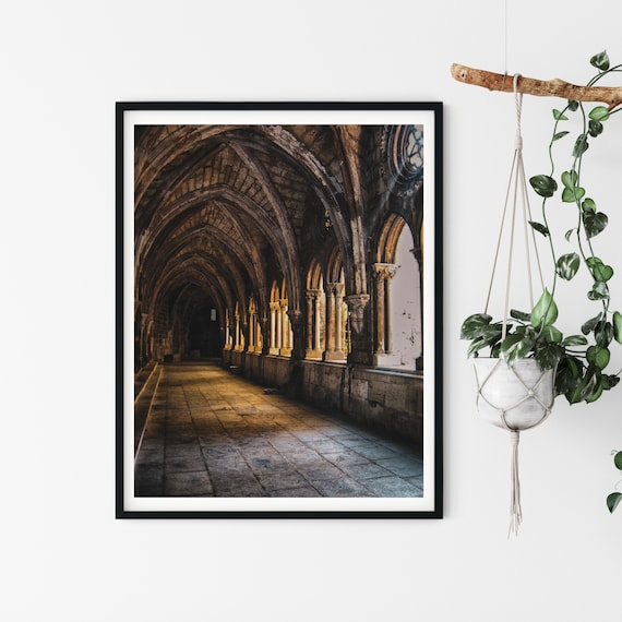 Church Window Photo Print, Cathedral Of Lisbon, Portugal Photography, Religious Art