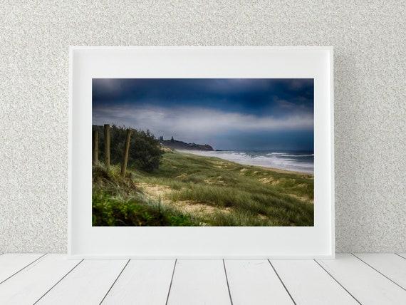 Stormy Sea Photo Print, Australian Prints, Coastal Decor