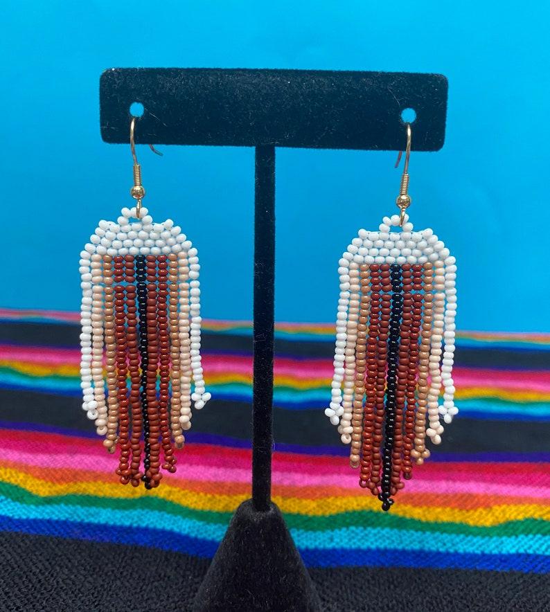 Tula earrings in  Piel Color Paletteneutral color earringsstatement earringsnude color palette earrings