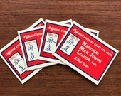 1970-71 National Mah Jongg League Official Card Standard Hands And Rules, set of 4