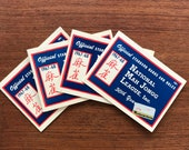 1967-68 National Mah Jongg League Official Card Standard Hands And Rules, set of 4