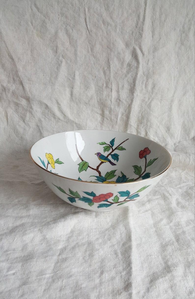 Delicate Floral Bowl Vintage Bowl Porcelain Bowl