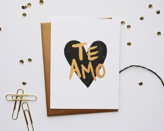 Love Card - Te Amo