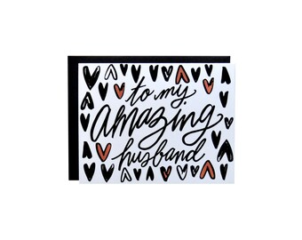 Love Card - Amazing Husband