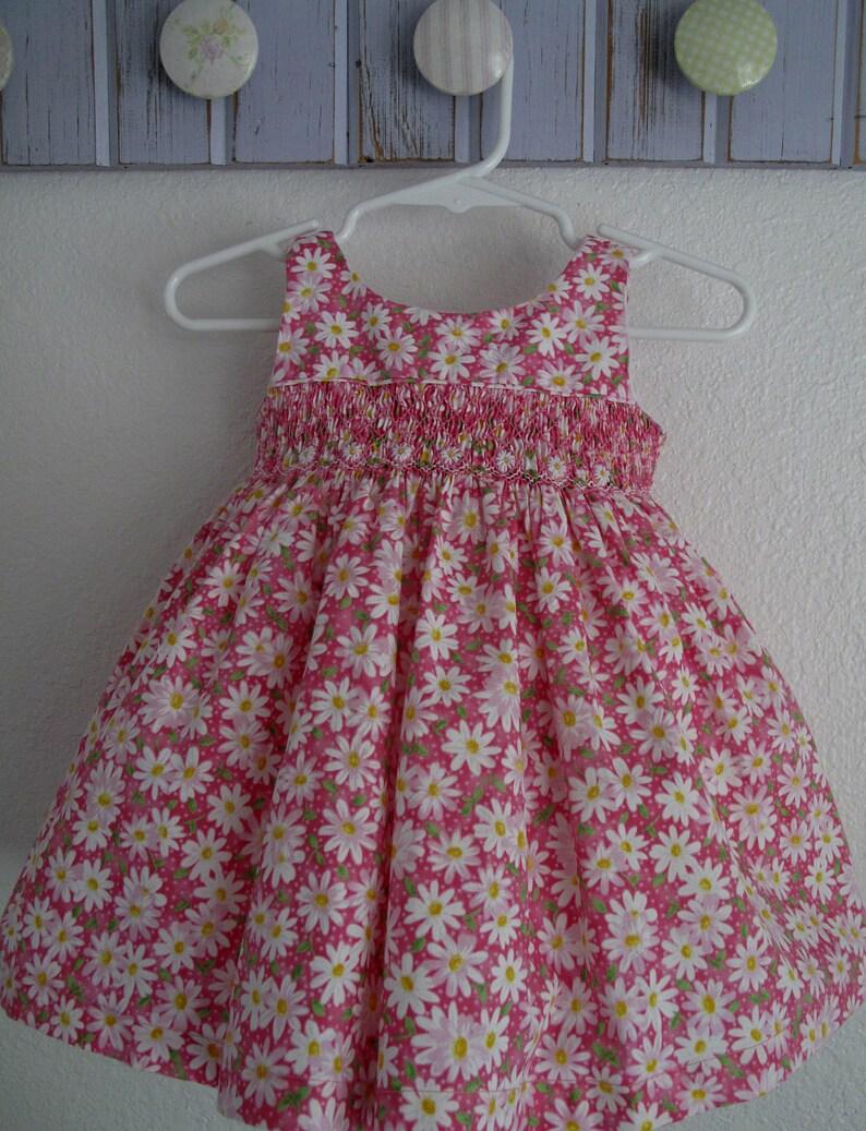 c34222c0737d Daisy delight baby girl dress hand smocked daisy dress. | Etsy