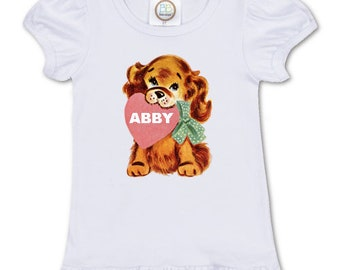 3f35b4341 TShirt PUPPY Love | Valentines | Personalized