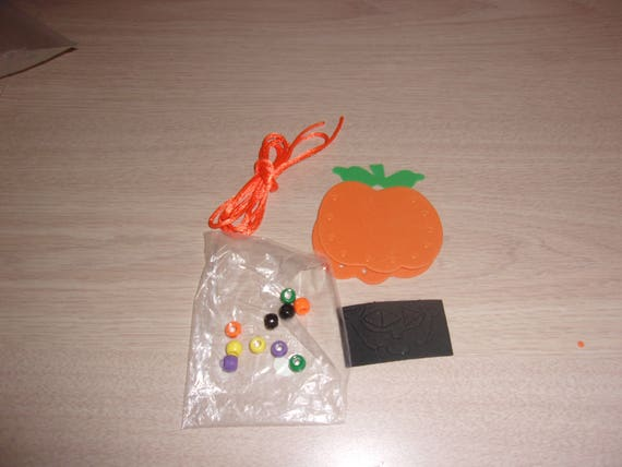 Foam Necklace Kids Craft Kit Halloween Jewelry Kit Craft
