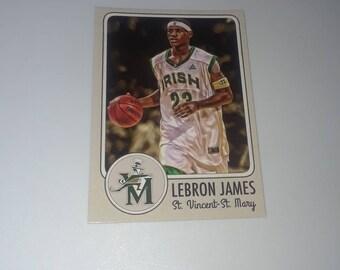 Lebron James Card Etsy