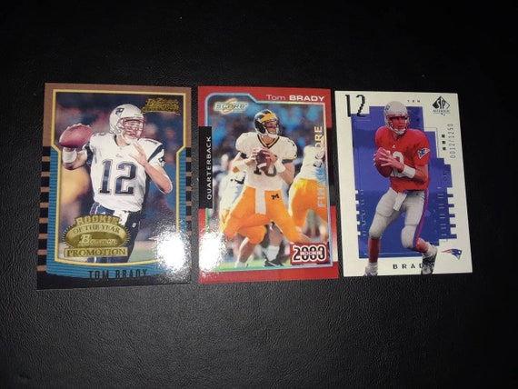Tom Brady Reprint Rookie Cards