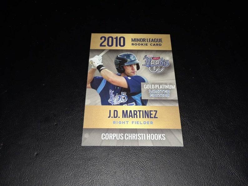 Rare Jd Martinez Aceo Rookie Card