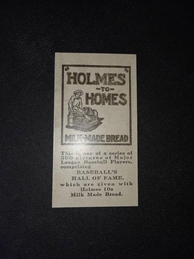 1916  M101 5 Verzamelkaarten: sport Honkbal Babe Ruth Rookie Year Reprint RP Baseball Card Holmes Back