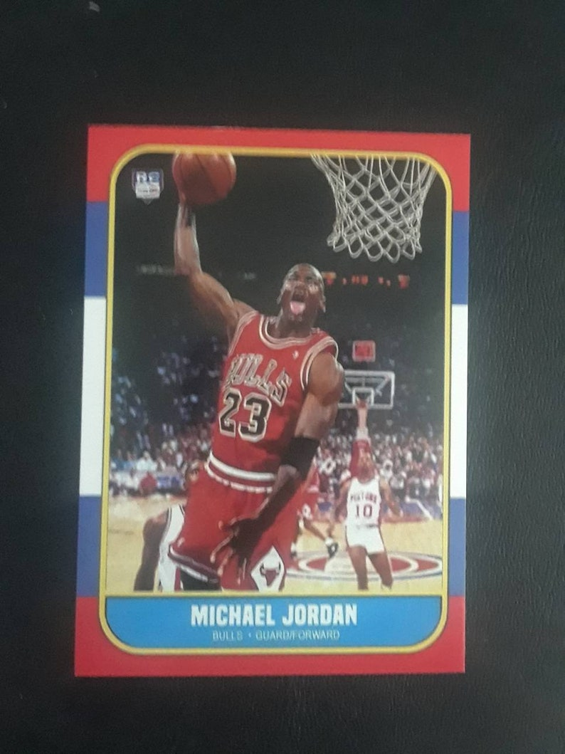 Rare Michael Jordan Reprint Rookie Card