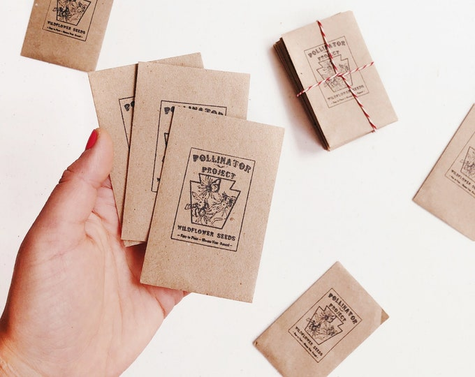 Pollinator Project Wildflower Seed Packet