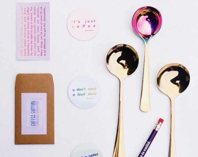 Starter Pack: 2 Golden Hours + 1 Rainbow + 5 Stickers + 1 Pencil