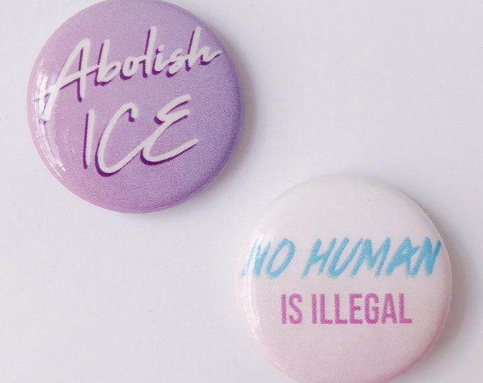 Abolish ICE Pin Set (Solidarity)