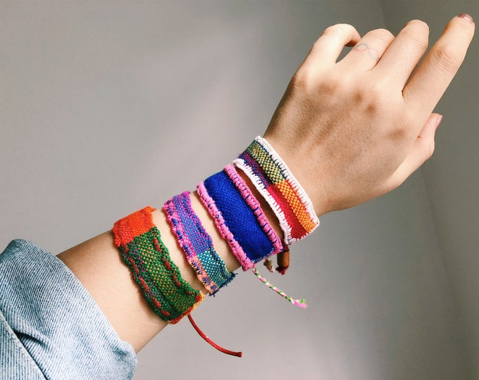Catracha Cloth Bracelet (Solidarity)