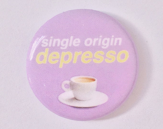 Single Origin Depresso Pin