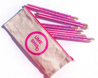 Cupping Pencils + Cupping Spoon Pouch