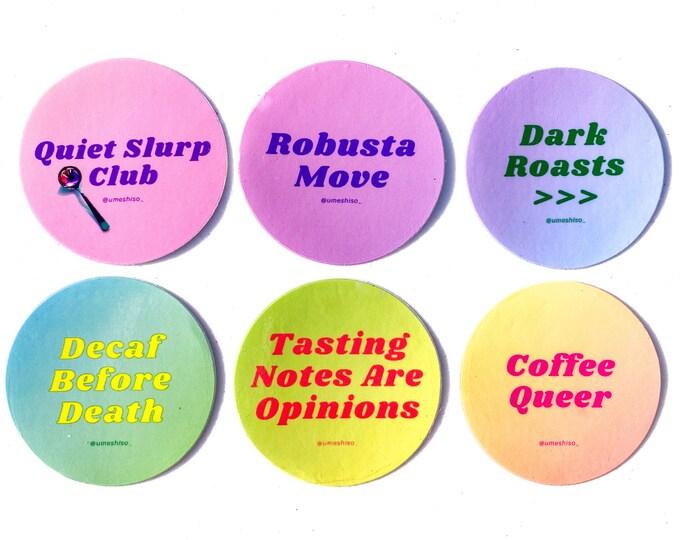 Umeshiso Sticker Set