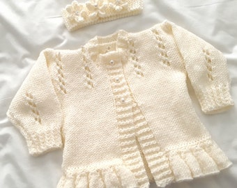5ac7f4582 Hand knit baby