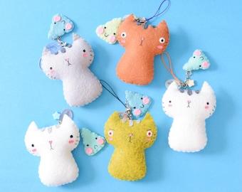 d0bf7ef6223 Small Kawaii Unchi (Poo) Neko Cat Plushie Set (Ready To Ship)