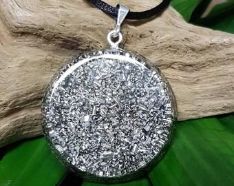 "Orgone Pendant ""No-frills"" - EMF Protection and Energy Balancing - Healing Jewelry - Large"