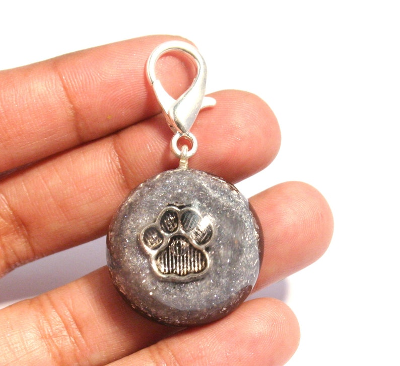 Dogs and other Animals Orgone Pet Pendant EMF Protection and Energy Healing for Cats Black Tourmaline /& Shungite
