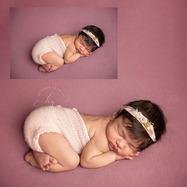 Instant Download PDF NewbornReborn baby size Elodie romper Photography Prop Newborn Knittingcrochet PATTERN