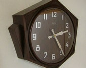 1920s 1930s Smiths Sectric Vintage Art Deco Wall Clock