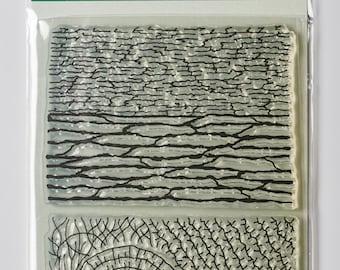 Organic Texture Stamp/Sheet - 'WOODS'