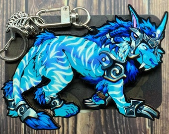 """Ghost of the Pridemother Birch Plywood Charm 3.5"""""""