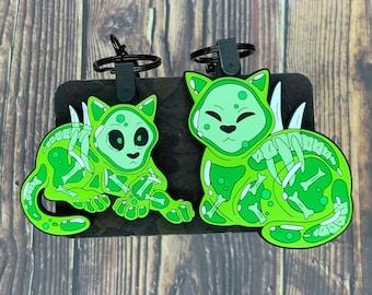 "Jellycats PVC Rubber Keychains 2.3"""