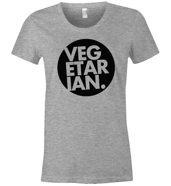 Image of: Vegetarian Diet Image Etsy Vegetarian Shirt Animal Rights Shirt Vegetarian Shirt Etsy