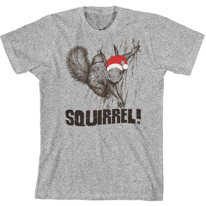 6441f44af Squirrel Shirt Funny Christmas Squirrel T Shirt Christmas | Etsy