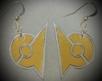 Pokemon Go Team Icon/Team Gym earrings