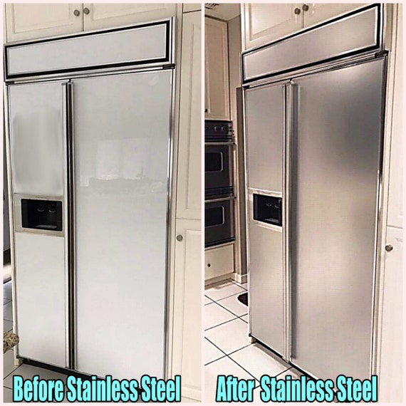 """Update Dishwasher Panel Brushed Stainless Steel AS SEEN ON HGTV 26/"""" x 36/"""""""